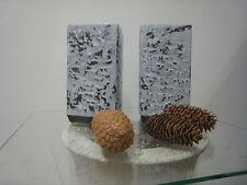 Blumentopf Käutertopf grau weiss Übertopf Pflanztopf Vase Gefäß 20 cm Höhe