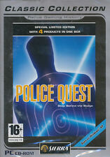 POLICE QUEST COLLECTION Best Seller 4x PC Games for Windows - UK Version New BOX