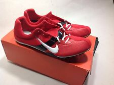 Rare Nike Zoom Miler Track Spikes NEW red/white/black us size 15