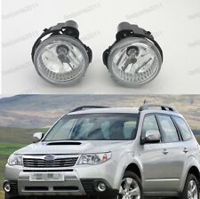 1Pair Replacement Front Fog Lights Lamps For Subaru Forester 2011-2013