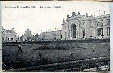 CP Belgique - Bruxelles - Exposition 1910 - La Grande Terrasse