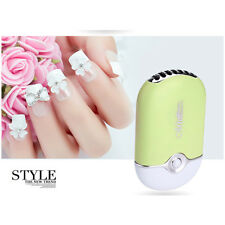 Elite99 Portable 2 in 1 Mini USB Cable for Nail Polish Eyebrow Fast Dryer Fan