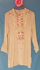 JWC l large ARIANNA TUNIC grain JWLA Johnny Was nwt new collection