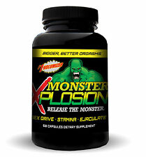 MONSTER XPLOSION  MALE ENHANCEMENT EJACULOID EJACULATON SEX DRIVE