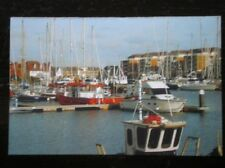 POSTCARD SUSSEX EASTBOURNE YACHTING AT SOVERIGN HARBOUR