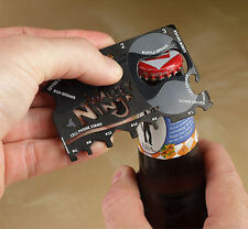 Wallet Ninja Multi-tool Multifunctional 18 In 1 Gadget