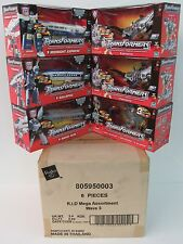 NOS 2001 Transformers RID Mega Case MIB Rapid Run, Railspike, Midnight Express +