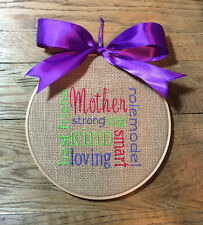 Gift For Mom, Mother's Day Gift, Mother Sign, Mother Plaque, Mother Word Art