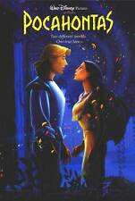 Pocahontas Single Sided Original Movie Poster 27x40 inches