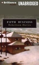 Deptford Trilogy: Fifth Business 1 by Robertson Davies (2012, CD, Unabridged)