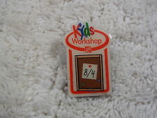 Home Depot Kids Workshop Tac Pin  (D33)
