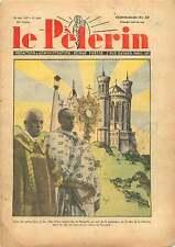Mgr Delay Evêque de Marseille/Colline de Fourvière Lyon France 1937 ILLUSTRATION