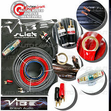 Vibe Slick 8 AWG Gauge VSAWK8-V1 1500W Car Van Amp Amplifier AWK8 Wiring Kit