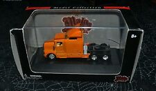 MALIBU INTERNATIONAL KENWORTH ORANGE TRACTOR TRUCK 1:87 SCALE