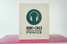 Pioneer SE-30 Kopfhörer in OVP Headphone Vintage gecheckt Rar 60/70er rar
