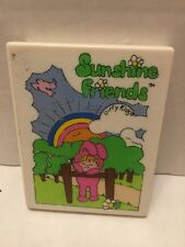 Dirty KidsVintage Vanity Compact Sunshine Friends Mirror Toy  1981 Minnetonka MN