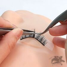Silicone Head Mannequin + Free 5 Strip Lash Practice Training EyeLash Extension