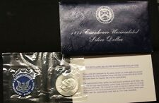 1971-S~~EISENHOWER SILVER DOLLAR~~40% SILVER~~BLUE PACK~~UNCIRCULATED