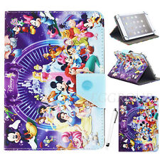 "Kids Gift Disney Cartoon For All 7 7""-inch Tablet Universal Leather Case Cover"