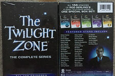 The Twilight Zone: The Complete Series (DVD, 2013, 25-Disc Set) Free Shipping