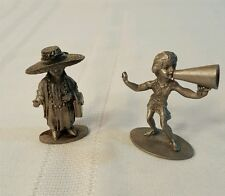 """Pewter Figurines """"All Dressed Up No Place To Go"""" Hudson USA #675 Cheerleader 918"""