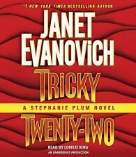 Stephanie Plum: Tricky Twenty-Two 22 by Janet Evanovich (2015, CD, Unabridged)