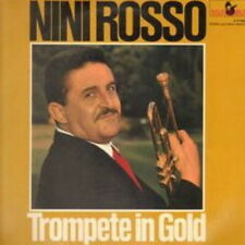 """12"""" Nini Rosso Trompete in Gold (Greenleevers, O mein Papa) 60`s Marcato"""