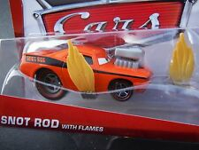 DISNEY PIXAR CARS SNOT ROD WITH FLAMES 2013 SAVE 5% WORLDWIDE FAST SHIP