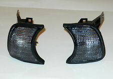 NEW BMW 5 SERIES E34 1987 -1996 FRONT INDICATOR SET PAIR - SMOKED OE 63131384034