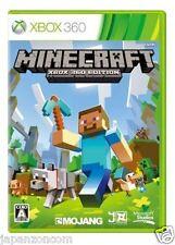 Used Xbox 360 Minecraft MICROSOFT JAPAN JAPANESE JAPONAIS IMPORT