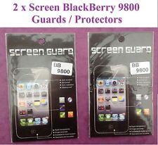 LCD Pellicola Trasparente Salvaschermo Per Blackberry bb9800 NUOVISSIMO Qtà = 2