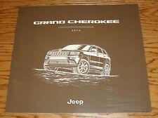 Original 2016 Jeep Grand Cherokee Deluxe Sales Brochure 16 SRT Laredo Overland