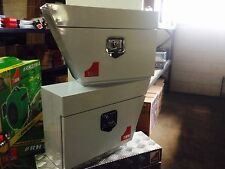 Tool Boxes Under Tray Steel LH / RH Pair New