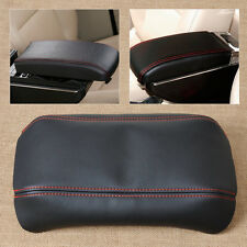 Sport Line Black Front Console Lid Armrest Cover Skin For 2003-2007 Honda Accord