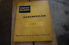 CAT Caterpillar D337 Engine Repair Shop Service Manual overhaul diesel tractor
