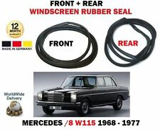 FOR MERCEDES /8 W115 200 230 240 1968-1977 FRONT + REAR WINDSCREEN WINDOW SEALS