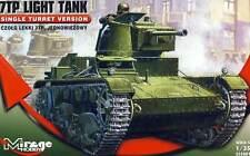 MirageHobby - Panzer 7TP Light Tank Polen 1:35 Modell-Bausatz NEU OVP kit Decals