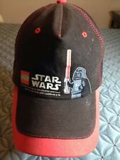 Lego Star Wars Baseball Cap Hat Black One Size Fits All Cottom Size 7-1/3