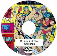 Masters of The Universe Comic Collection 294 Issue on DVD He-Man She-Ra Skeletor