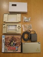 Nintendo DS Lite Legend of Zelda Phantom Hourglass Gold Handheld System