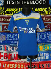 5/5 Warrington Wolves adults L mint rugby league shirt jersey