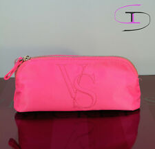 NWT VICTORIA'S SECRET PINK SMALL GRAPHIC MAKEUP COSMETIC  BAG  1012B