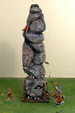 "WARHAMMER age of sigmar WAR GAME SCENERY "" MAGICAN CHAOS MONOLITH "" PRO PAINTED"