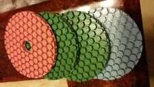 "24 X 4"" Ultra Thick Floor Countertop Renew Polishing Pad Concrete Granite Glass"
