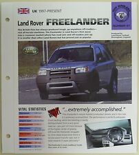 LAND ROVER FREELANDER IMP COLLECTOR BROCHURE SPECS 1987-1988 GROUP 6, NO 21