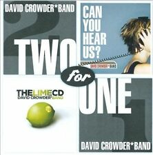 Two For One: Can You Hear Us? / The Lime CD, David Crowder Band, Good