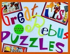 Great Rebus Puzzles by Ryan, Steve