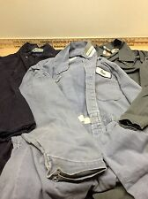 Used Assorted Clean Cotton & Synthetic Coveralls (1 Pair Of Size Large)