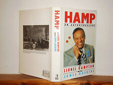 Hamp: An Autobiography by Lionel Hampton  (HB in DW 1990) Jazz Xylophonists