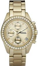 Fossil Women's Decker ES2683 Gold Stainless-Steel Analog Quartz Watch